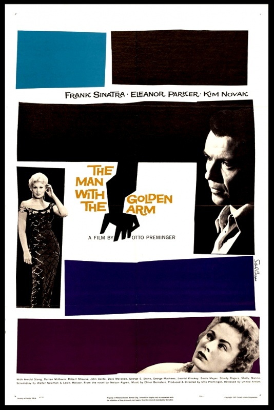 The Man with the Golden Arm (1955) [PELICULA]