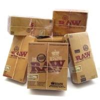 Cajas Papel Raw Natural