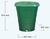 Depósito Cuadrangular Verde