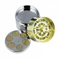 Grinder Polinizador Aluminio Revolver