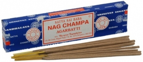 Nag Champa Indian incense - 12 sticks