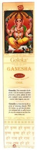 Goloka Ganesha Indian incense - 12 sticks