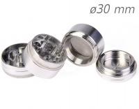 Grinder Polinizador Aluminio Colores 30 mm