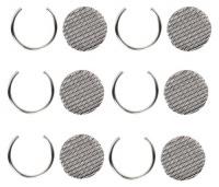 Vaporizador Iolite WISPR: Rejillas Finas (6 unidades)