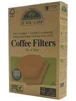 Unbleached Coffee Filters (100 Filters)