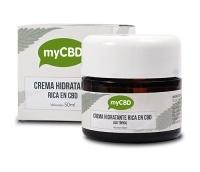 Hydrating Cream Rich in CBD