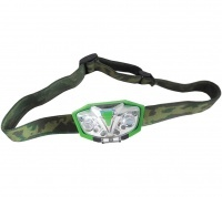 Frontal Green LED Head Torch