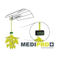 Termohigrómetro para Casquillo E40 Medipro