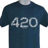 Camiseta 420 Backyard