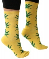 Calcetines Cannabis Hemp Leaf