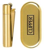 Mechero Clipper Metal Oro Mate (2021)