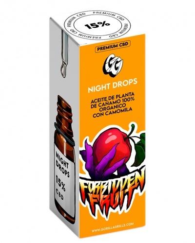 Aceite CBD 15% Night Drops 10 ml
