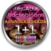 1 Semilla Feminizada ADVANCED SEEDS + 1 Bactobloom