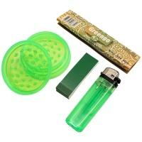 Kit fumador verde