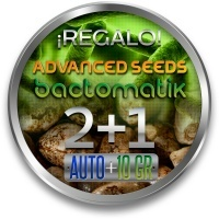 2 Semillas Autofloración ADVANCED SEEDS + 1 Bactomatik