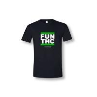 Camiseta THGROW Hombre Talla M NEGRA