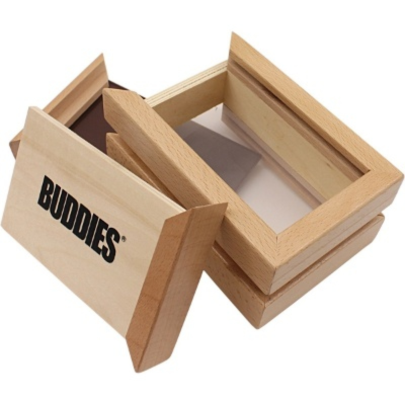 Review of the Wooden Box Buddies with Sifter