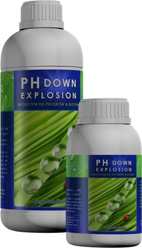 pH Down Explosion. Reductor del pH
