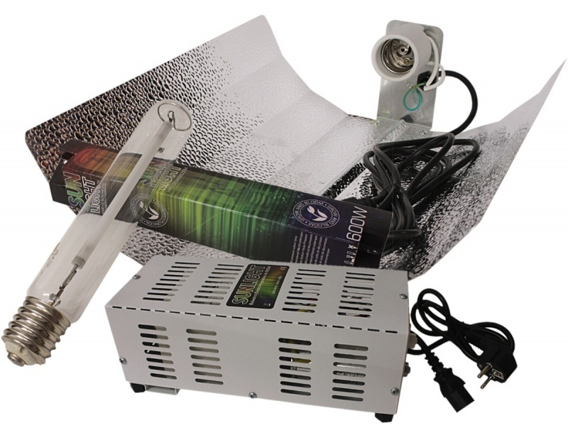 Kit 600W HPS Plug&Play Sunlight