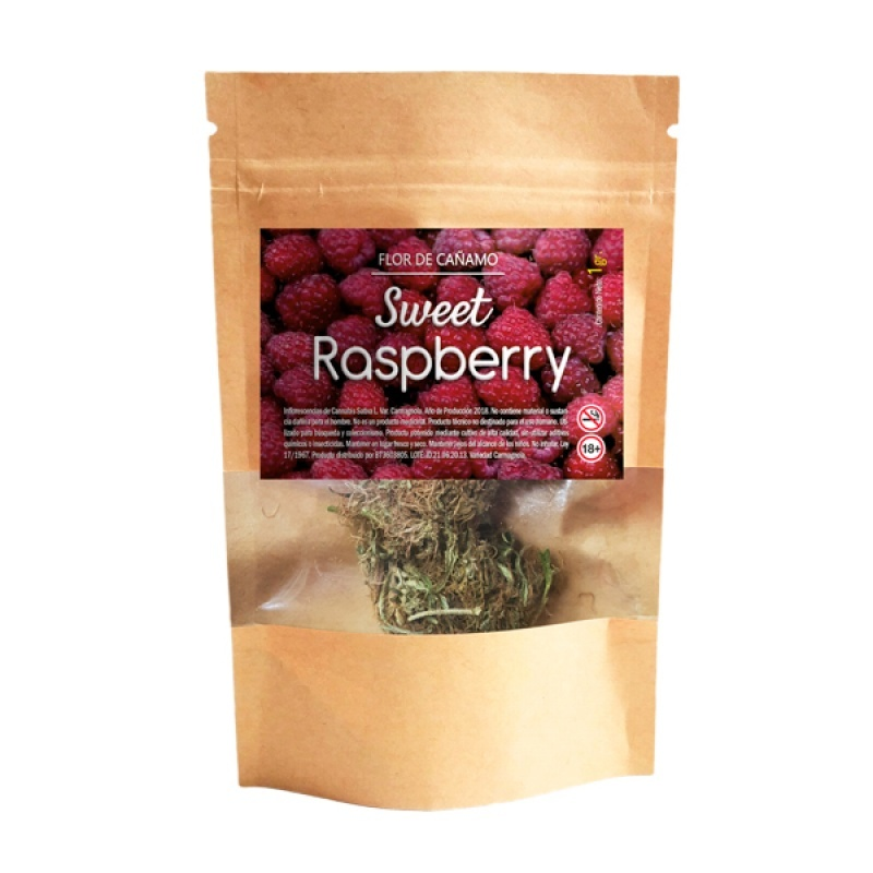 Cannabis Haut CBD Swiss Made  Sweet Raspberry