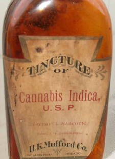 Old Cannabis Medicine Bottle 02